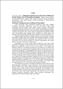 Jurnal kompetensi pedagogik guru pdf