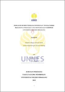 Pengaruh Humor Terhadap Penurunan Tingkat Stres Mahasiswa Psikologi Yang Mengerjakan Skripsi Di Universitas Negeri Semarang
