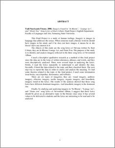 kurt cobain thesis statement